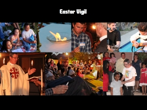 St. Jude's Outdoor Easter Vigil