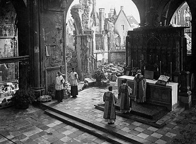 A German Mass during WWII