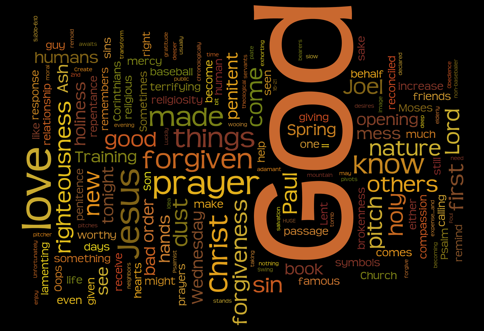 Game on a sermon for ash wednesday the gospel side screen shot 2014 03 05 at 111647 pm buycottarizona Image collections