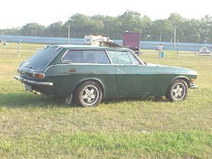 Volvo 1800 ES. Like all Volvos: Lots of electrical problems. Volvo was a mistake I made three times.